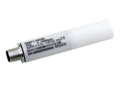 EE871 CO2 probe with Modbus RTU interface