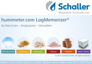 Humimeter LogMemorizer