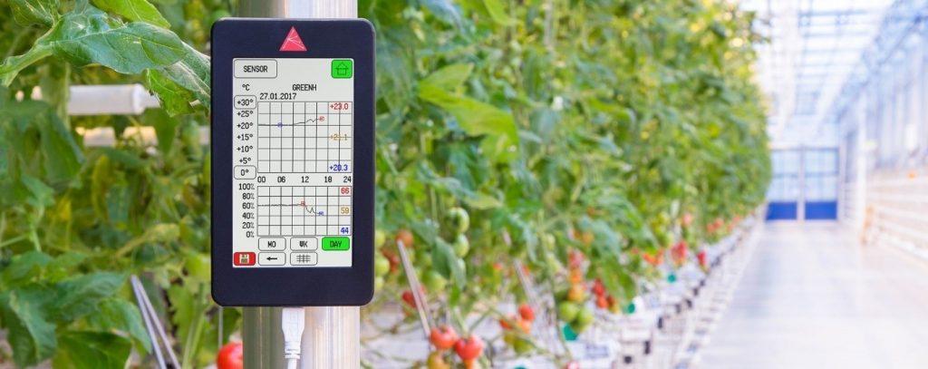 Aranet's agricultural data logging software