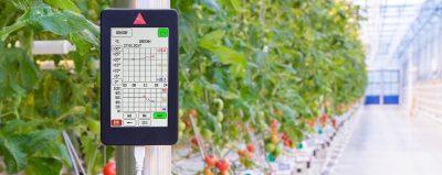 aranet agricultural data logging