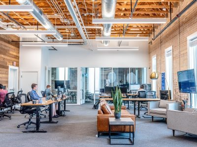 open plan office ventilation